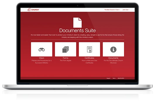 Documents Suite™ on a Macbook