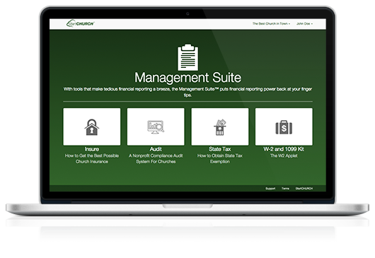 Management Suite™ on a Macbook