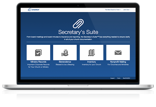 Secretary's Suite™ on a Macbook